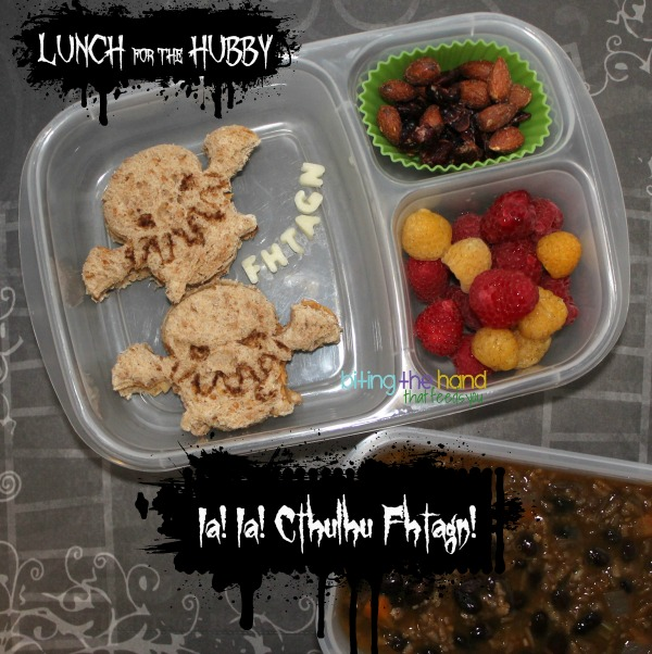 Baby Cthulhu lunch