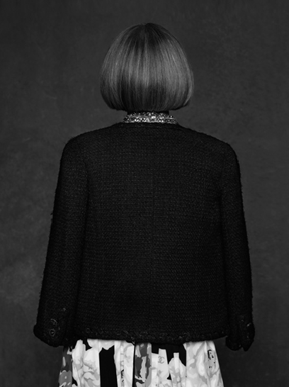Anna Wintour little black jacket chanel
