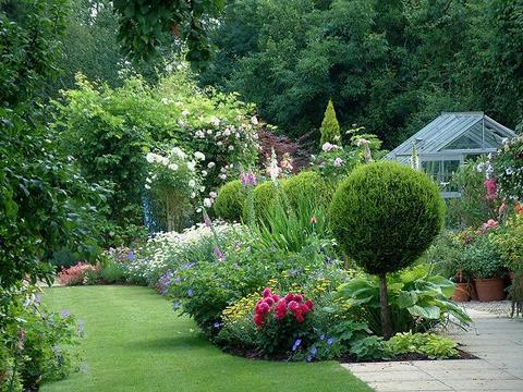 Shine like stars for Country garden design ideas