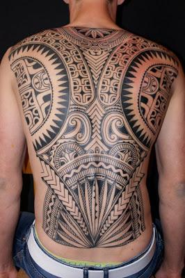Fullback Maori Tattoo