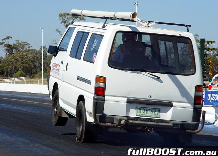 Mitsubishi L300 dragster