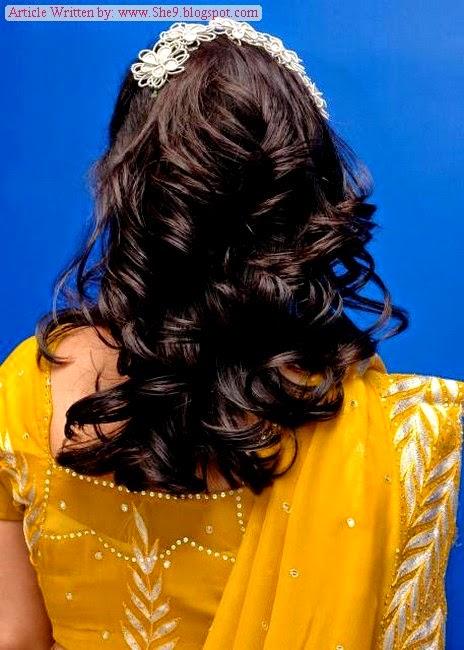 Bridal Mehendi Event Hairstyles