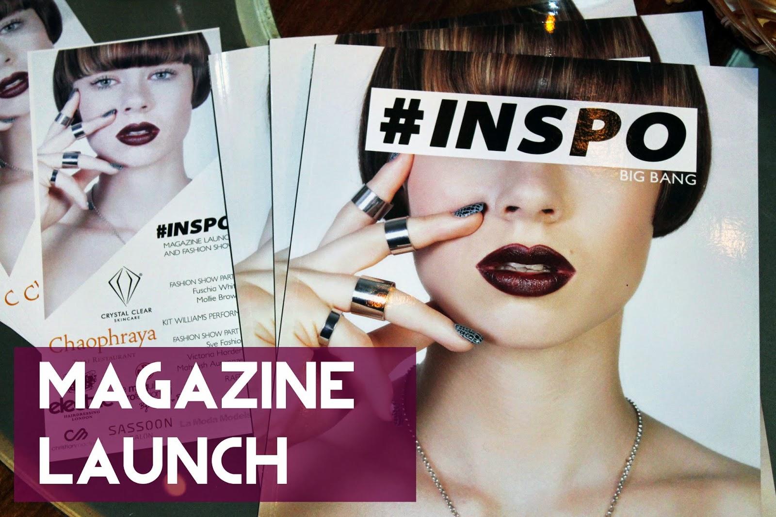 #inspo magazine launch party liverpool