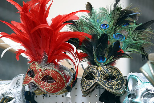 mascaras carnaval