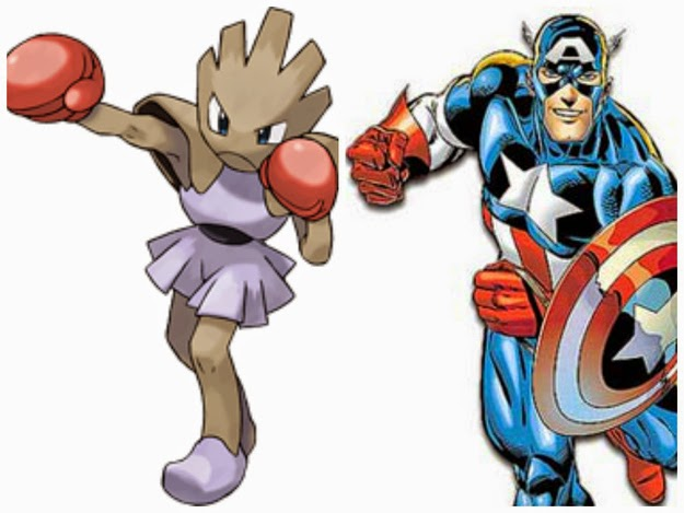 Captain America - Hitmonchan