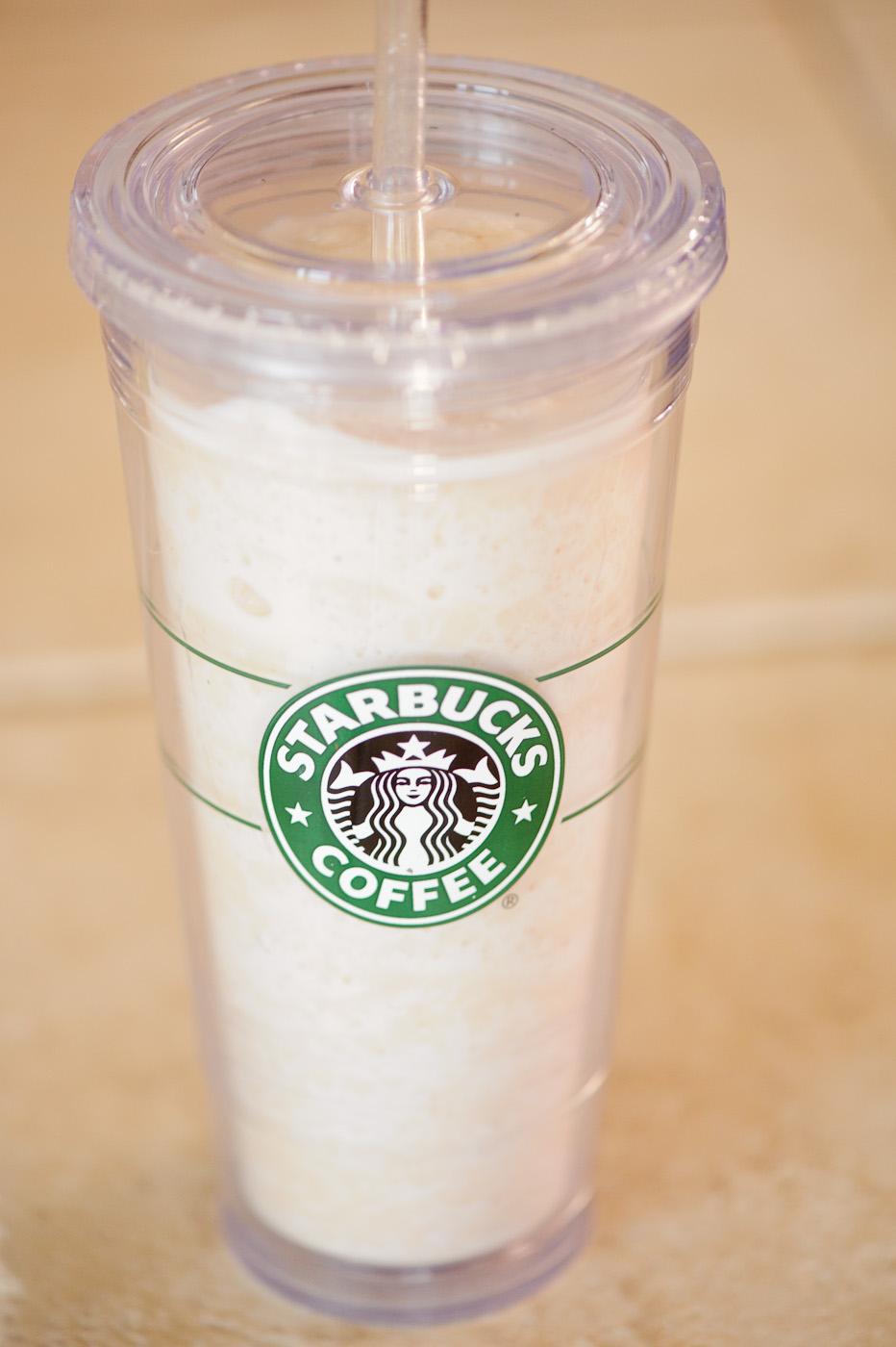 clark|pharm: Skinny Butterscotch Caramel Frappuccino