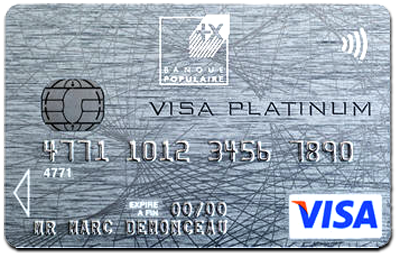 Banque populaire lance la premi re carte visa platinum en - Plafond de retrait carte visa banque populaire ...