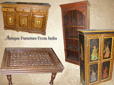 India designs antique furniture from india for Furniture indiana pa
