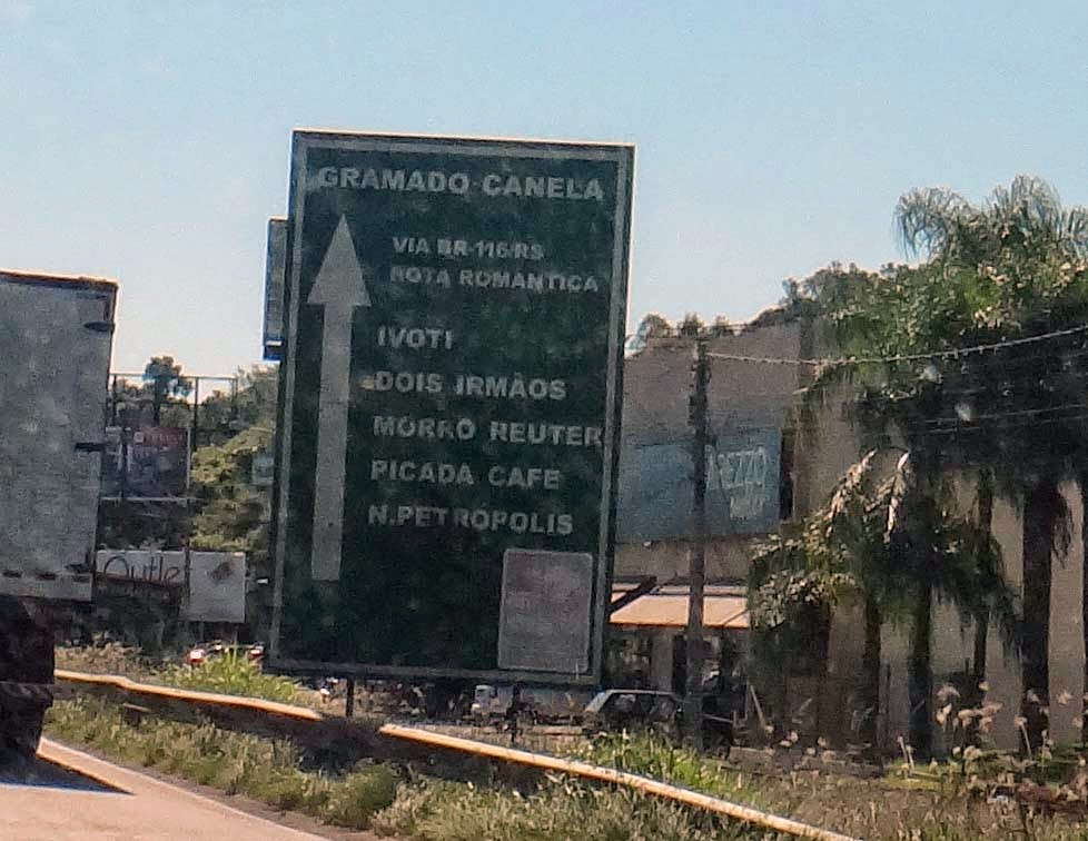 De Porto Alegre para Gramado indo pela Rota Romântica