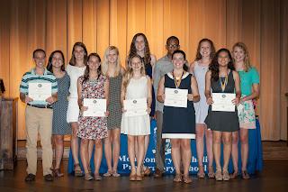 Montgomery Catholic High School Academic Awards Ceremony Held May 4 1