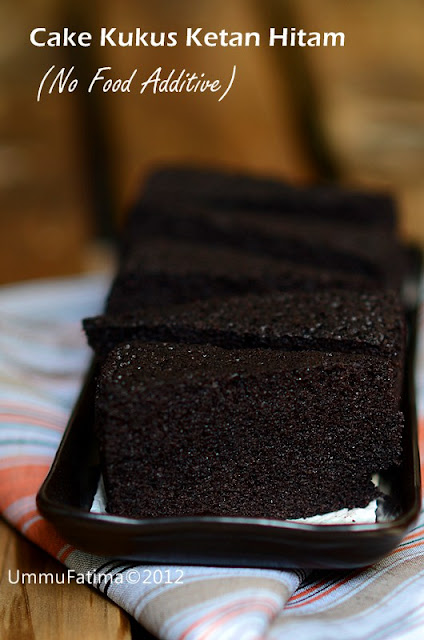 cake kukus ketan hitam (no food additive)