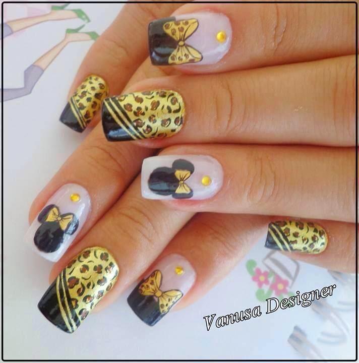 Hermosas decoraciones de uñas