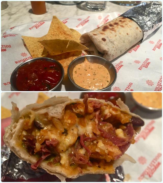 Revolution - Salt Beef Burrito