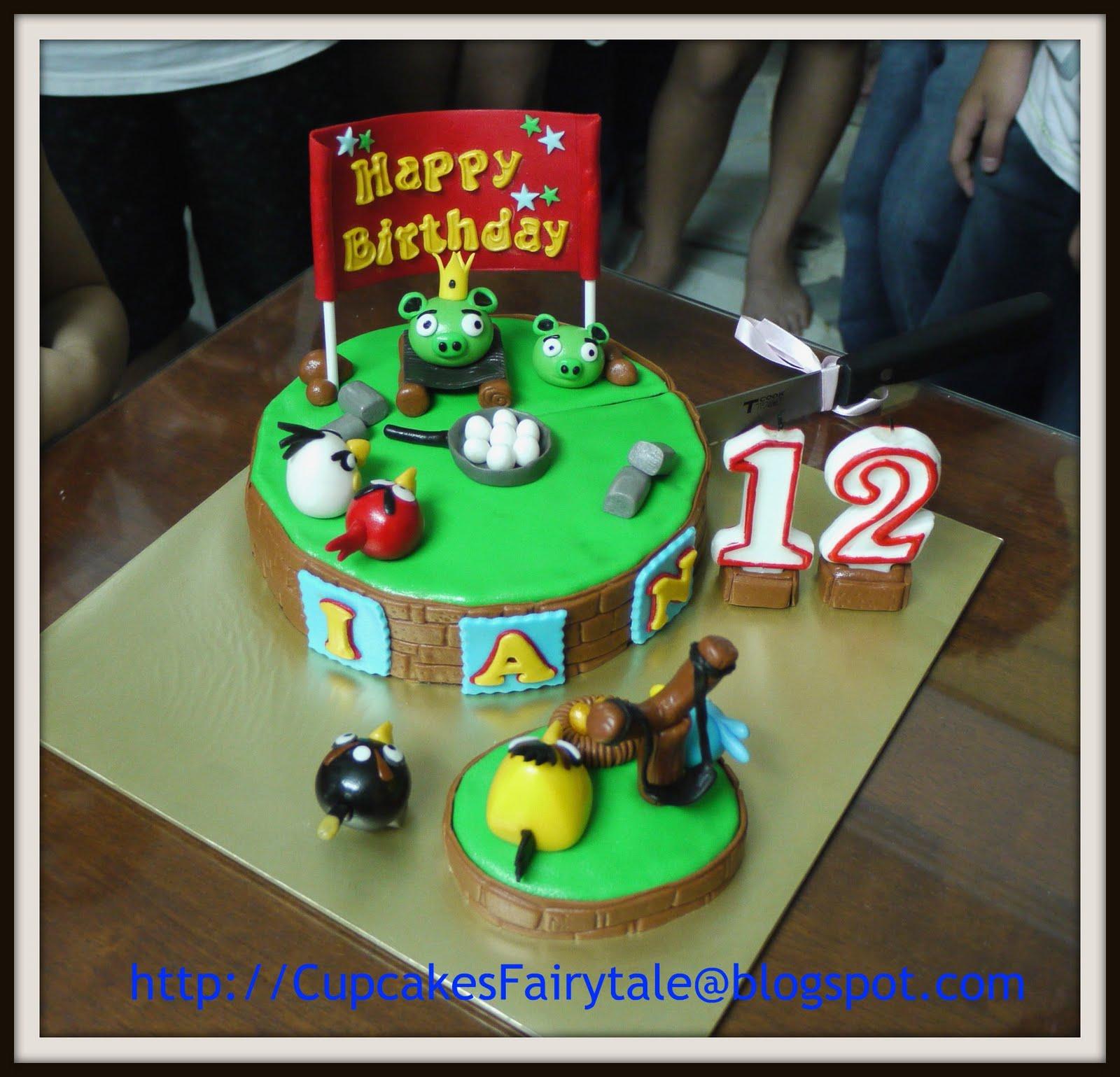 Cupcakes Fairytale Ians 12th Birthday Cake Cupcakes Angry