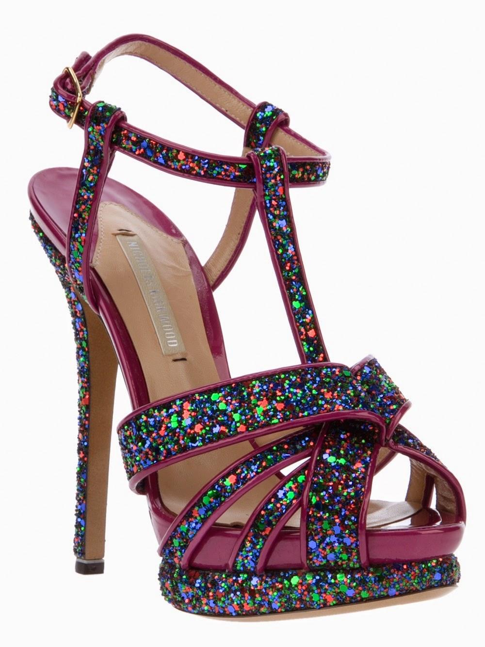 Hermosos zapatos de Quinceañeras