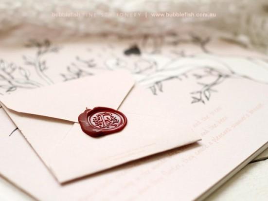 Как сделать конверт с печатью
