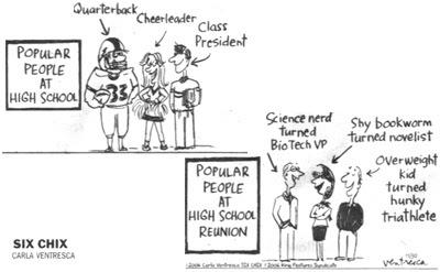 high school reunion: