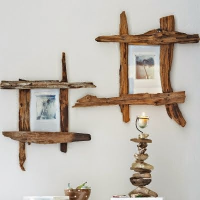 ramki z drewna