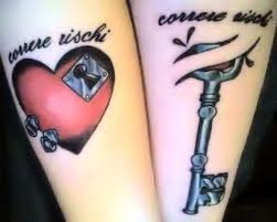 Matching Love Tattoos
