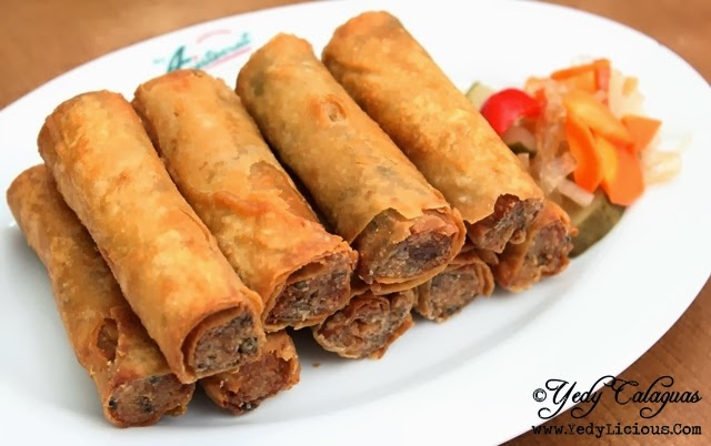 Lumpiang Shanghai at Aristocrat Restaurant