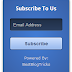 Stylish 3D Email Subscription Widget for Blogger