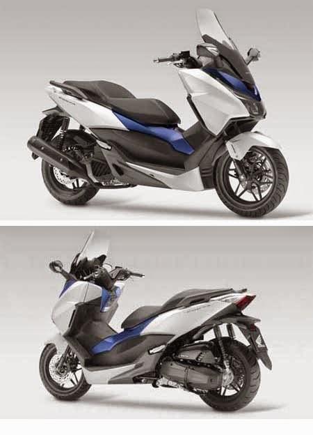 gambar skutik honda terbaru Honda Forza