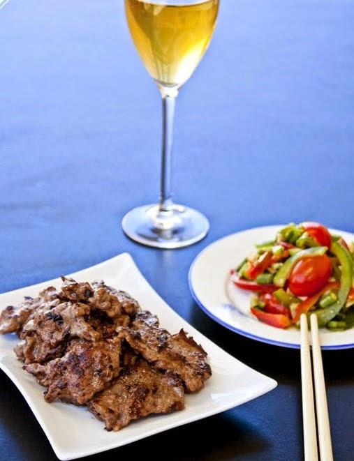 Grilled Beef with Multi Flavor (Bò Nướng Ngũ Vị)2