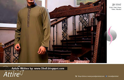 Junaid Jamshed Men Eid Collection 2015
