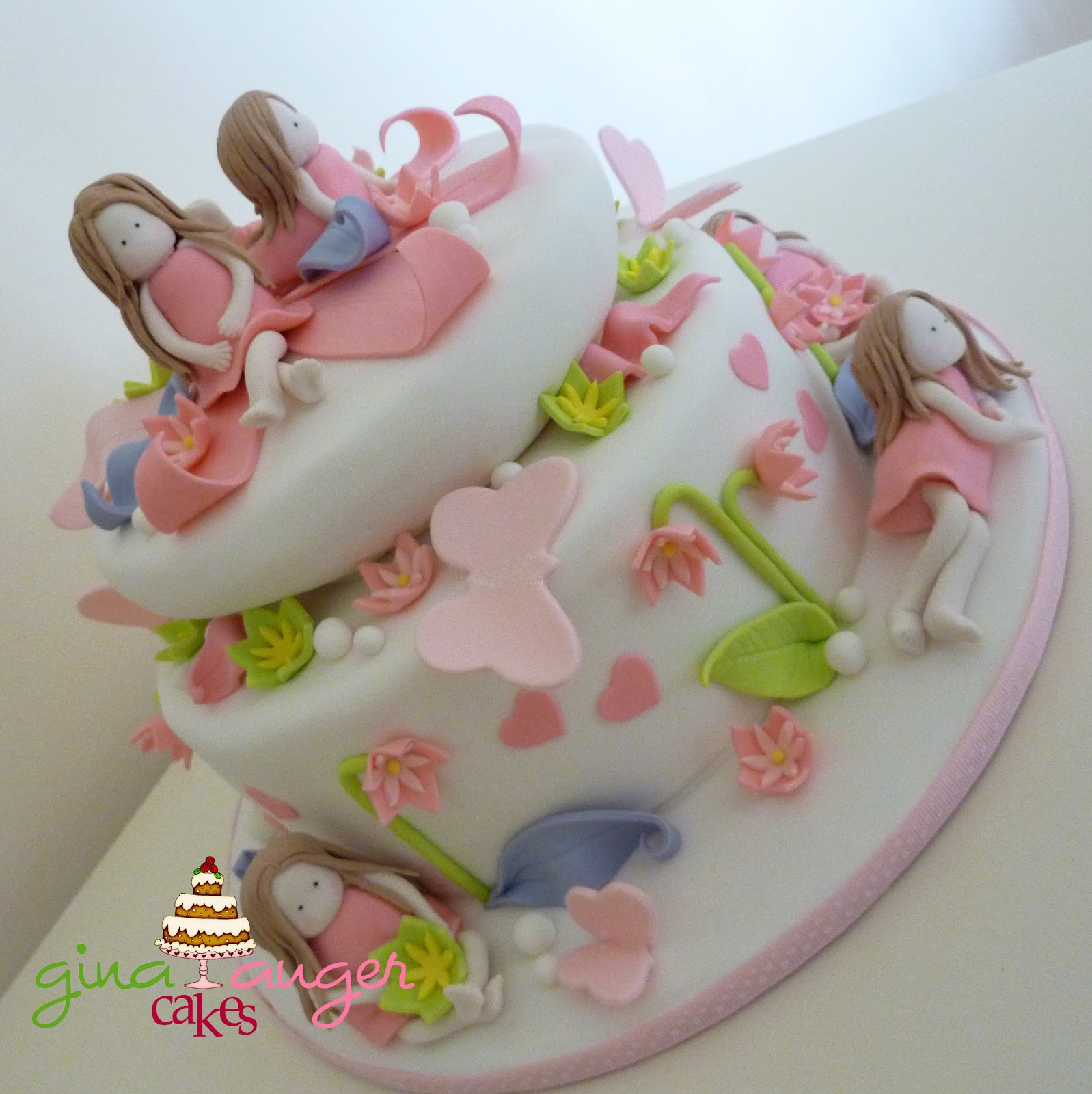 Top That Sweet Little Girls Birthday Cake