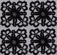 Вязаные квадраты крючком для платья из квадратов