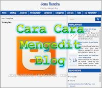 Cara Cara Mengedit dan Mendesain Blog