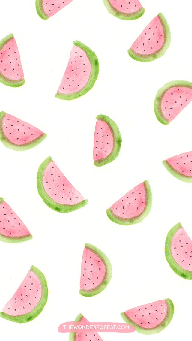 Watermelons wallpaper | We Heart It | wallpaper ...