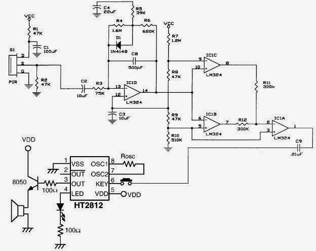 Detector Circuit Diagram