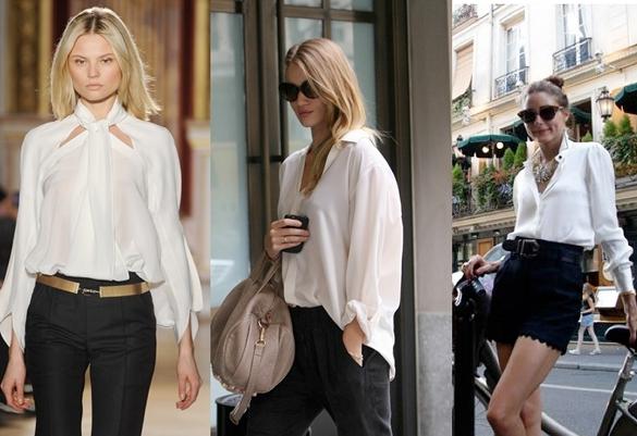 street style camisa blanca