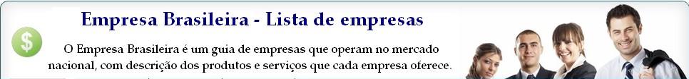 Empresa Brasileira - Lista de empresas