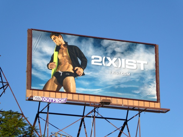 2Xist swimwear FW15 billboard