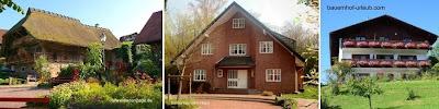 Tres ejemplos de casas de campo en Alemania