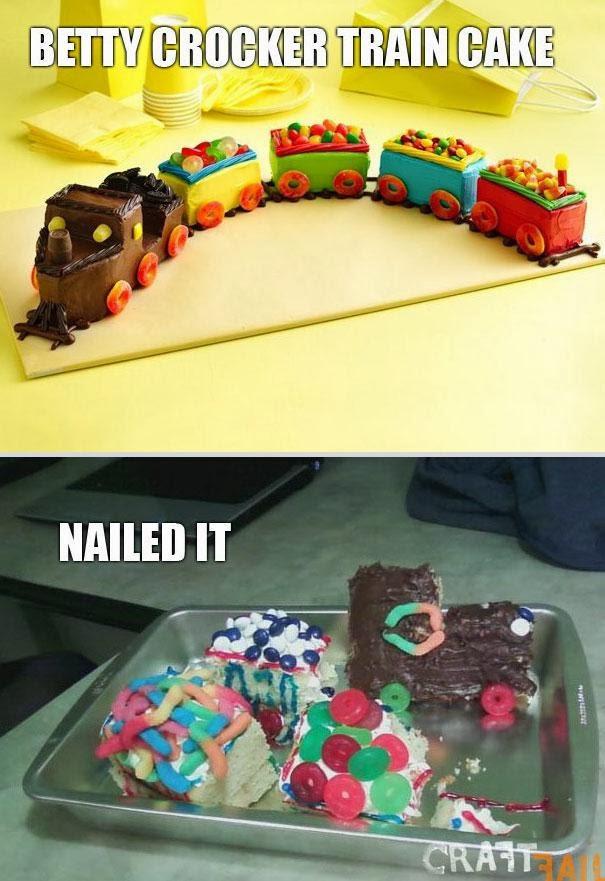 Торт паравозик