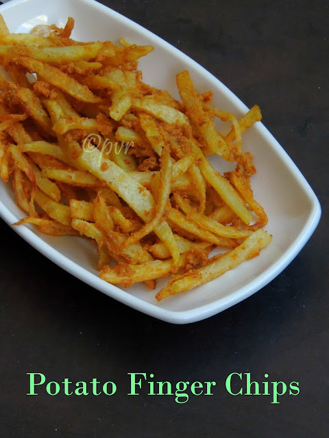 potato finger chips