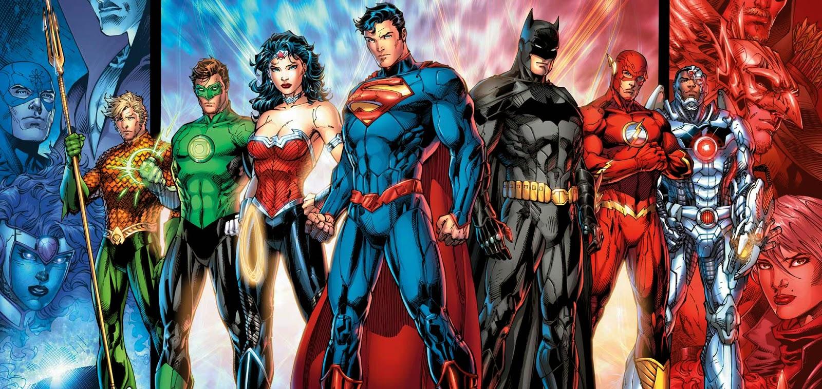 DC's Justice League lineup