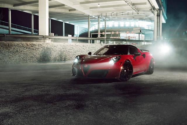 Alfa Romeo 4C Pogea Tuned