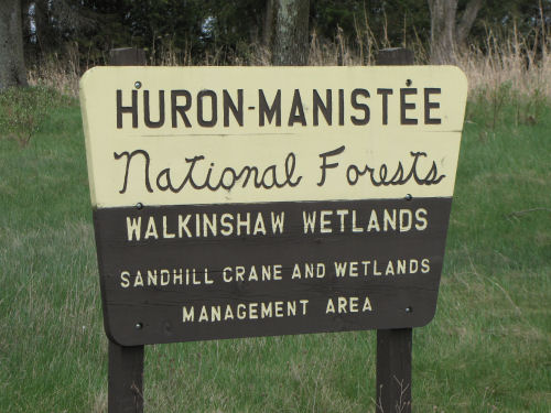 Walkinshaw Wetland sign