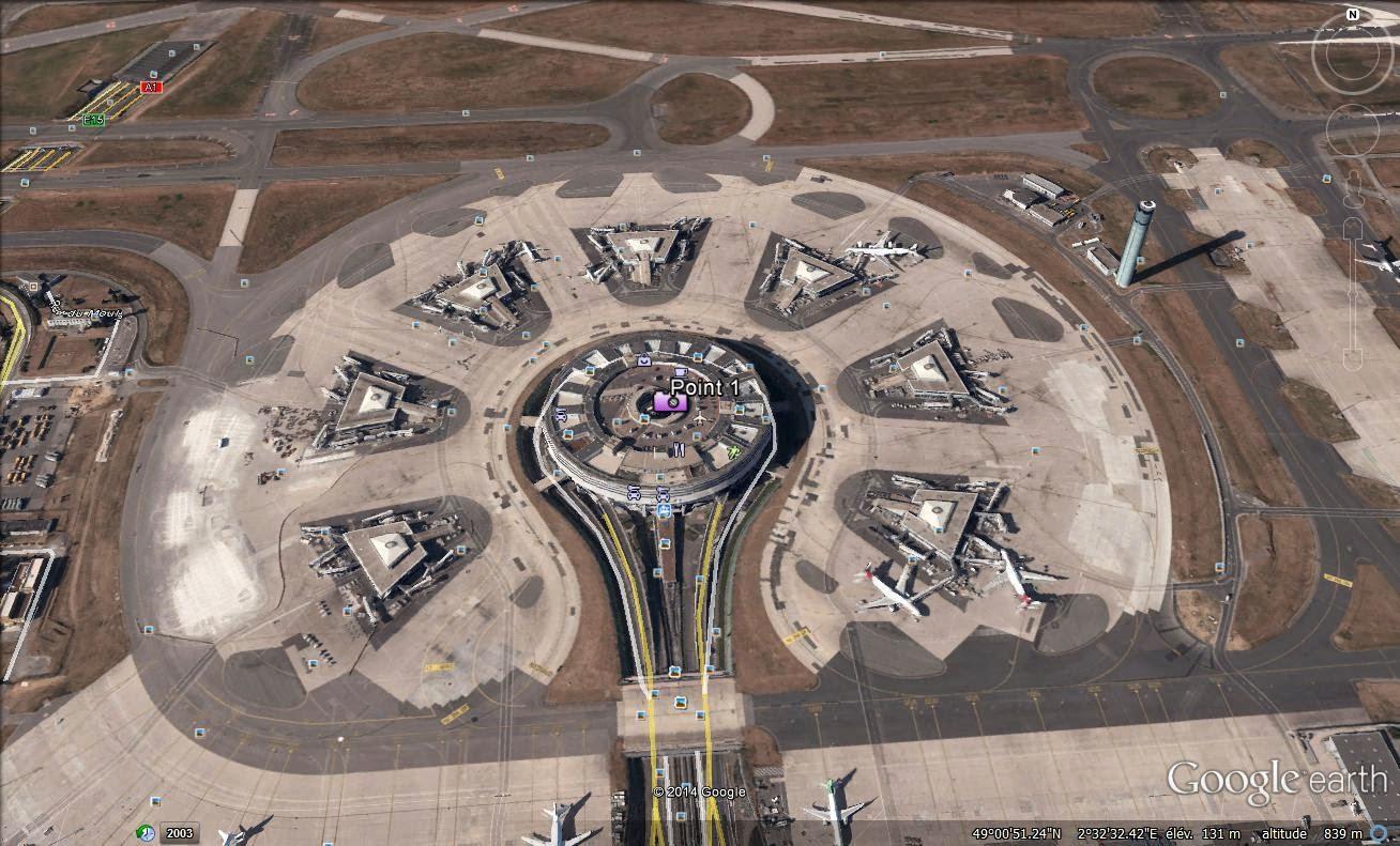 Point de rencontre aeroport cdg