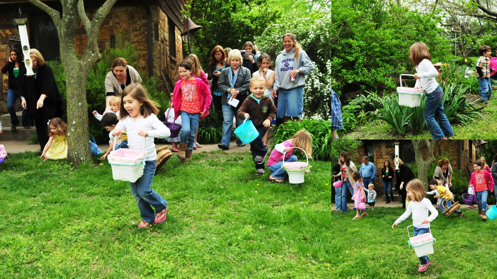 The Howell Family Easter Egg Hunt 2011