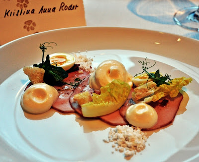 Zurich Renaissance Tower Hotel: delicous & beautiful starter