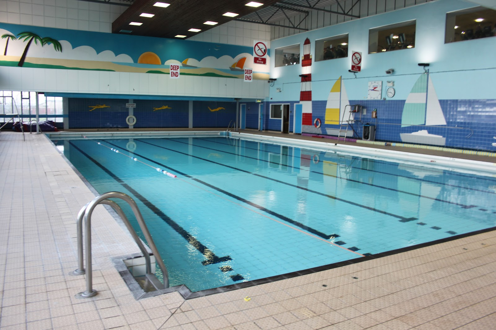 Final major project visit to templemore sports complex for Sport pools pictures