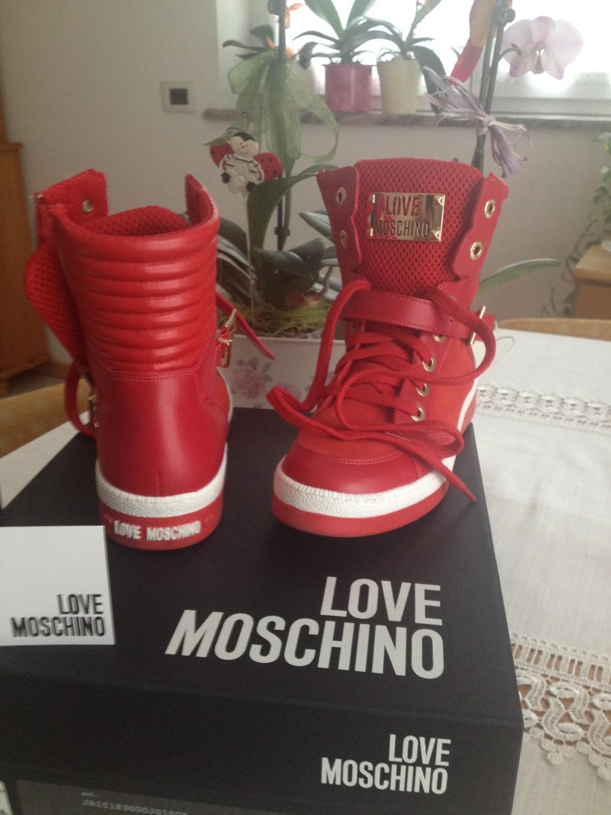 Ci Sneaker Moschino Ma Love Piace Quanto Chiacchierare 7Tqg6