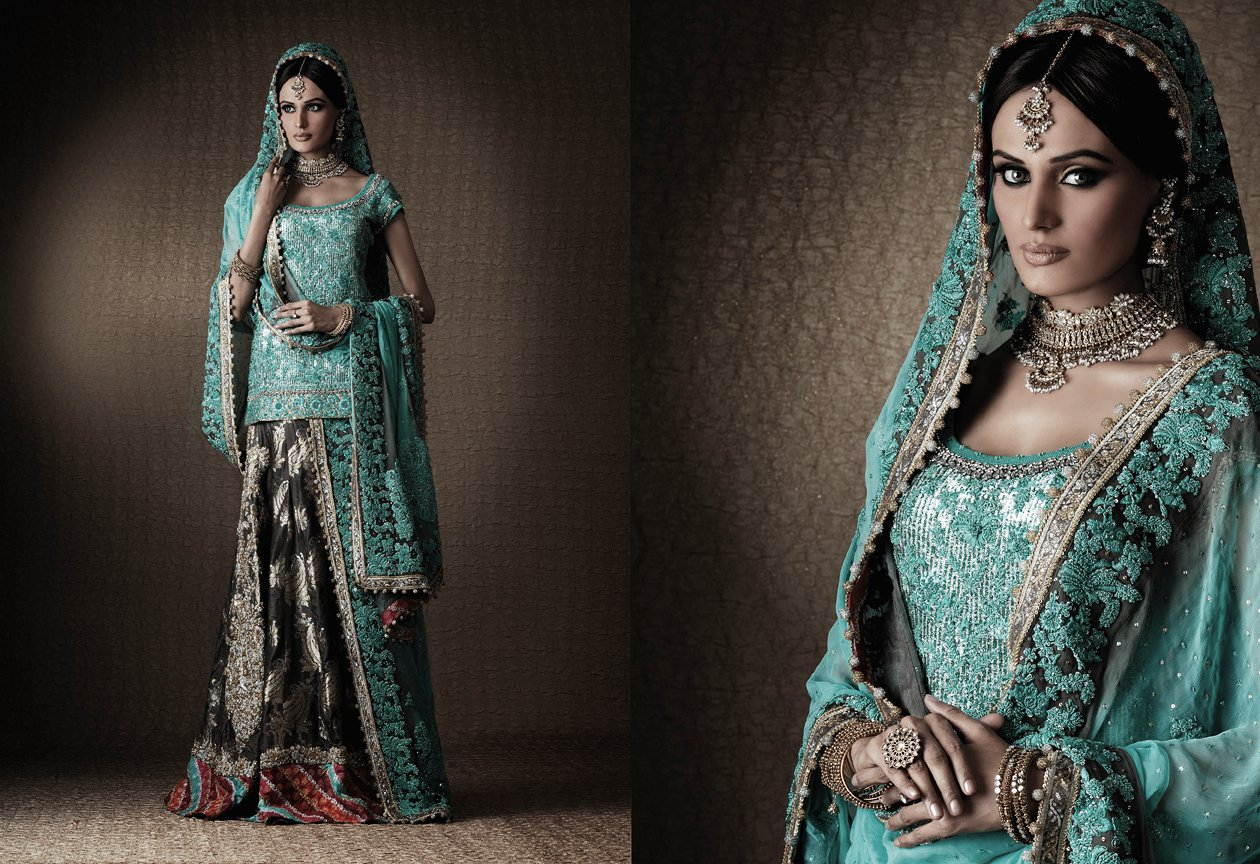 pakistani bridal dresses design