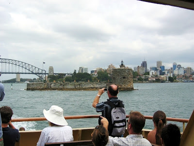 Sydney Harbour by Mike Hitchen. Fort Denison