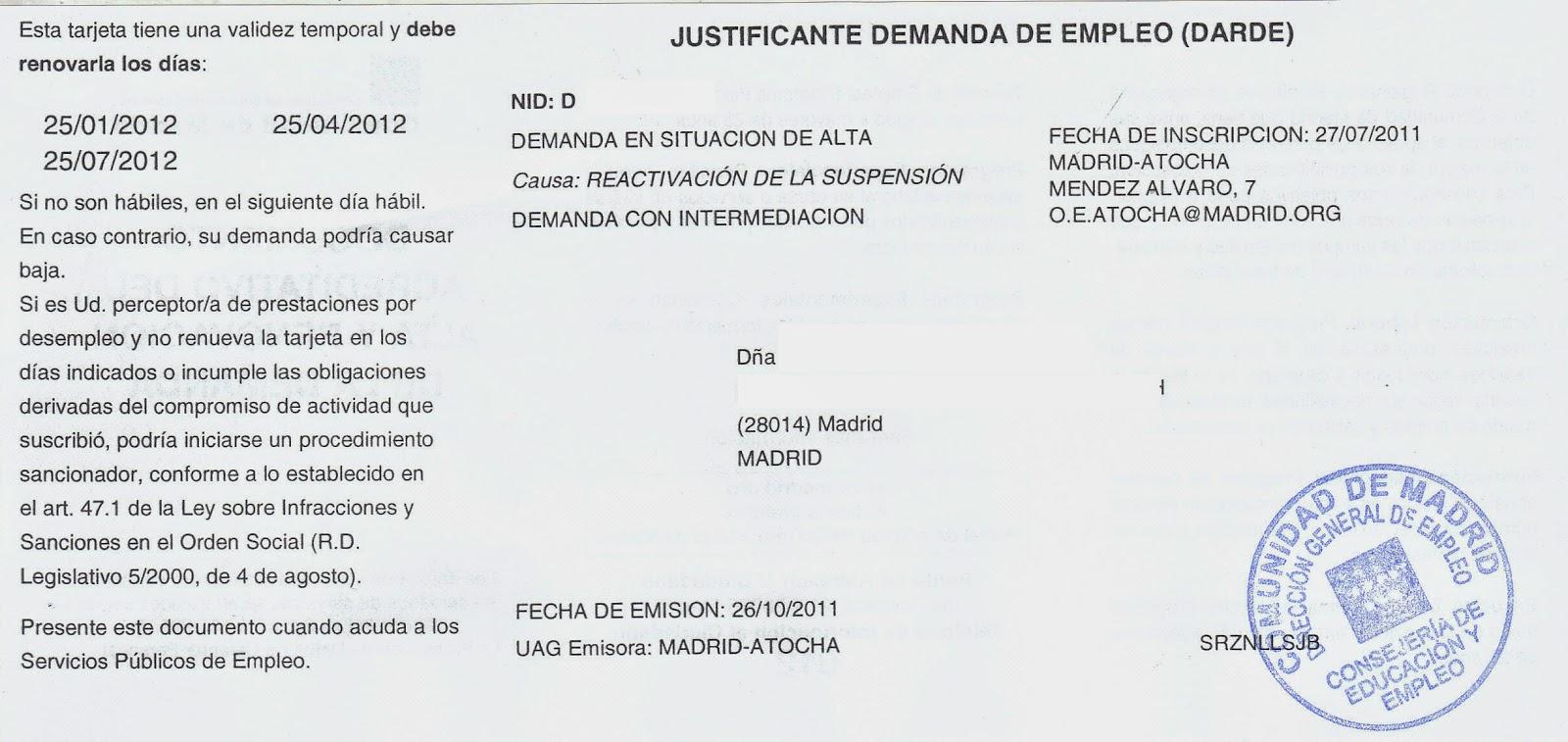 Aspa blog acompa amiento a la agencia para el empleo - Trabajo de jardinero en madrid ...